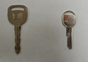 basic car key